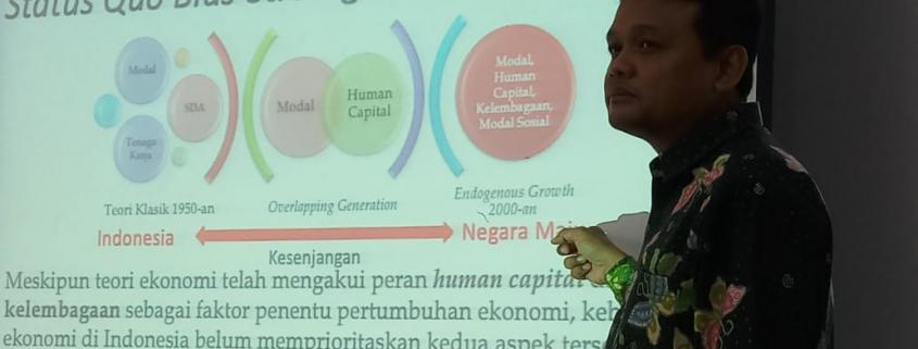 Rimawan Pradiptyo, Ketua Dept. Ilmu Ekonomi Fakultas Ekonomi dan Bisnis, Universitas Gajah Mada