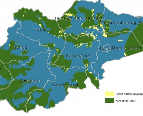Kontribusi Sawit untuk Penerimaan Negara dan Pendapatan Daerah di Provinsi Jambi Belum Optimal